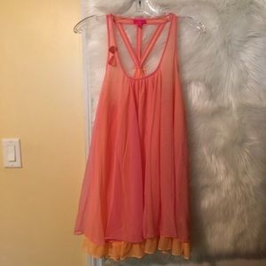 Betsey Johnson Babydoll Nightie Size M
